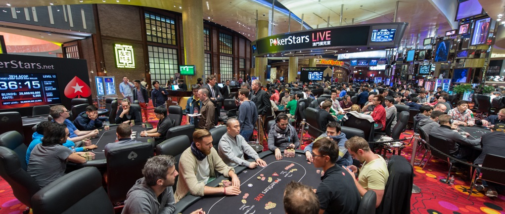 Pokerstars Live Macau Poker Room
