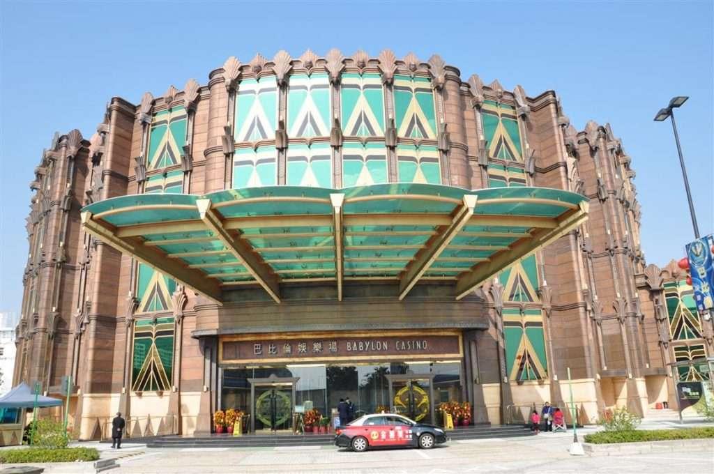 Babylon casino Front