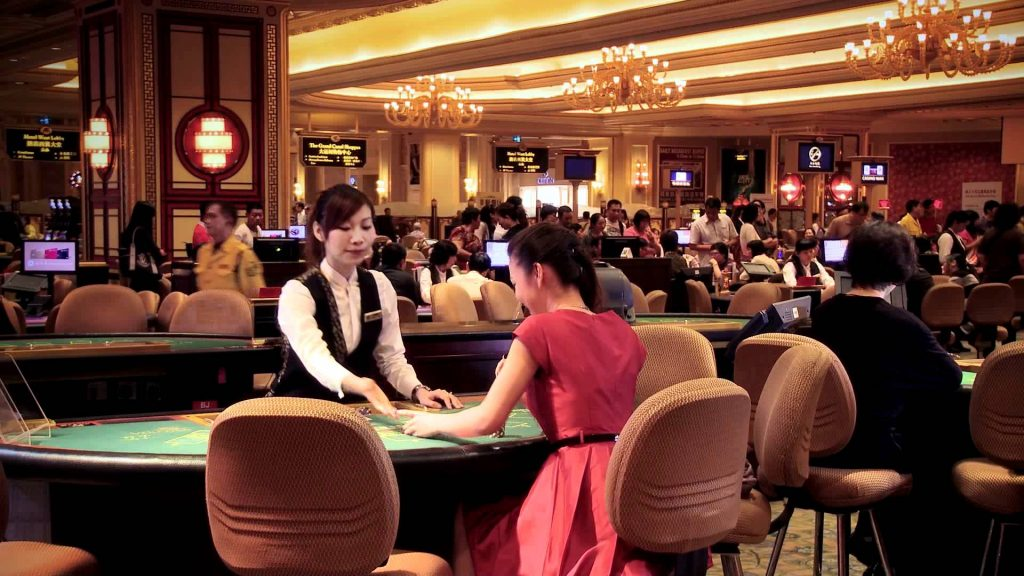 Blackjack Casino Floor